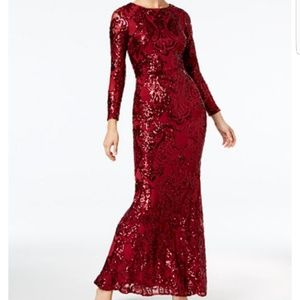 Sequins dress worn once